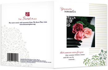 front and back of greeting card